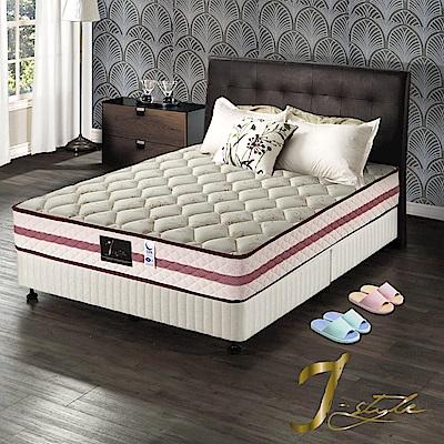 J-style婕絲黛 頂級飯店款涼感紗蜂巢式獨立筒床墊 單人加大3.5x6.2尺