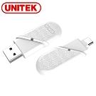 UNITEK USB3.0雙接頭Micro SD讀卡機(Type-C/A)