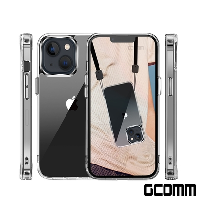 GCOMM iPhone 13 mini 晶透厚盾抗摔殼 Clear Shield