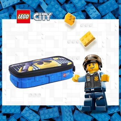 LEGO丹麥樂高鉛筆盒-警察 10052-2003