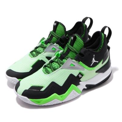 Nike 籃球鞋 Westbrook One 運動 男鞋 喬丹 避震 包覆 明星款 球鞋 穿搭 黑 綠 CJ0781103