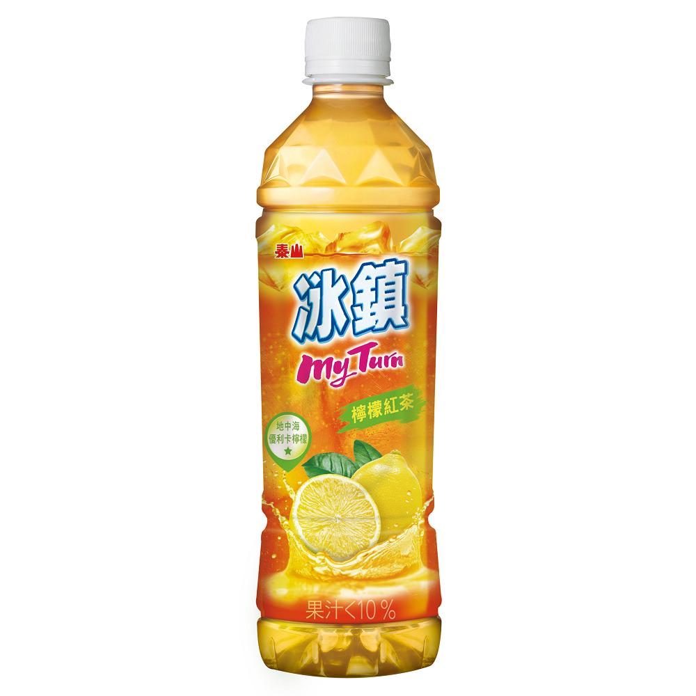 泰山 冰鎮檸檬紅茶(535mlx24入)
