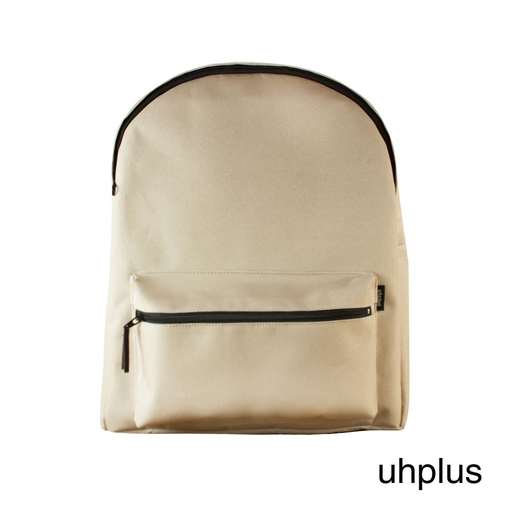 uhplus 國民後背包-極簡米褐