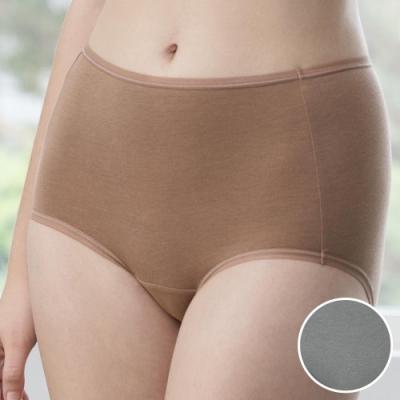 華歌爾-天絲竹炭 M-3L 中高腰三角褲 (灰)