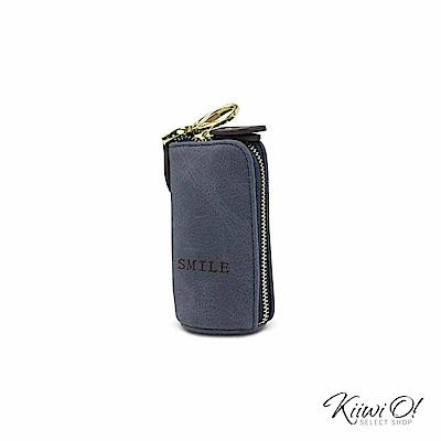 Kiiwi O! 大容量 鑰匙包/零錢包 Willa 藍