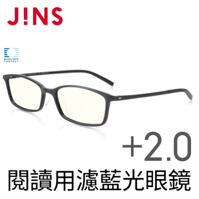 JINS 閱讀用濾藍光老花眼鏡+2.00 (AFRD18A048)