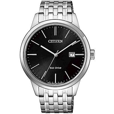 CITIZEN Eco-Drive 簡約時尚經典腕錶(BM7301-57E)