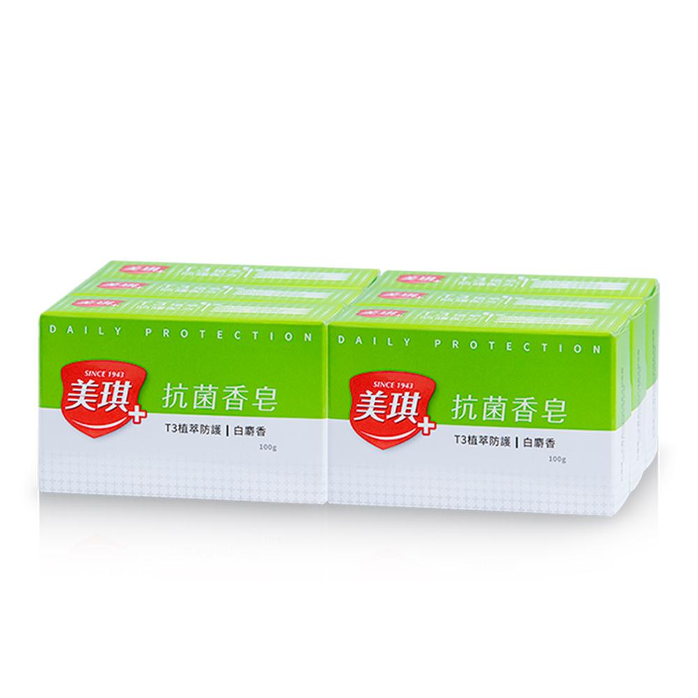 美琪 抗菌香皂 白麝香 6入裝