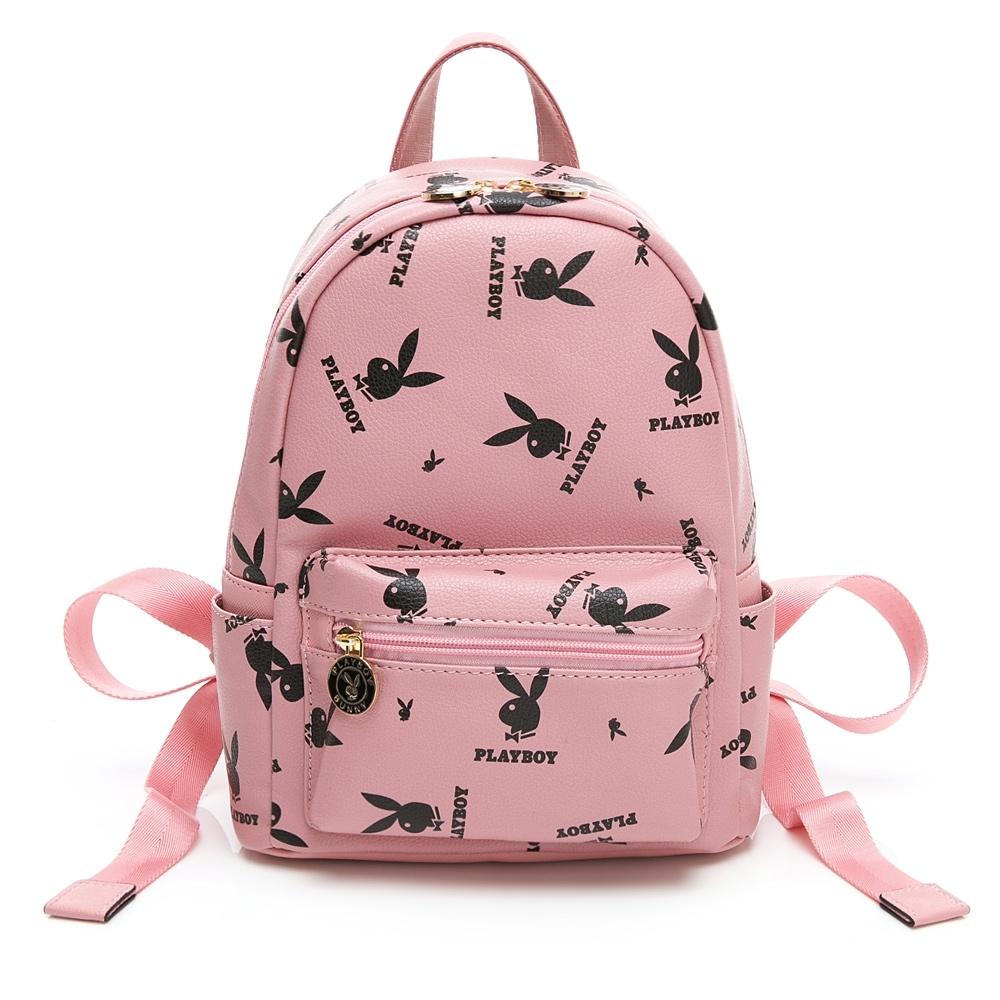 PLAYBOY-  小後背包 Refresh活力兔系列 -粉色