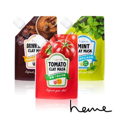 (即期品)heme就醬泥膜系列-美蕃/黑糖/薄荷(效期:20200514)