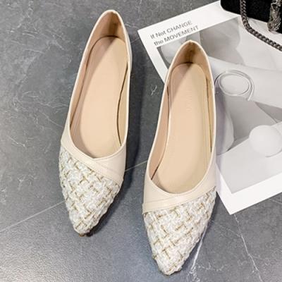 KEITH-WILL時尚鞋館獨家秒殺都會小香風尖頭淑女鞋