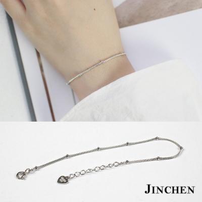 JINCHEN 純銀側身鍊手鍊