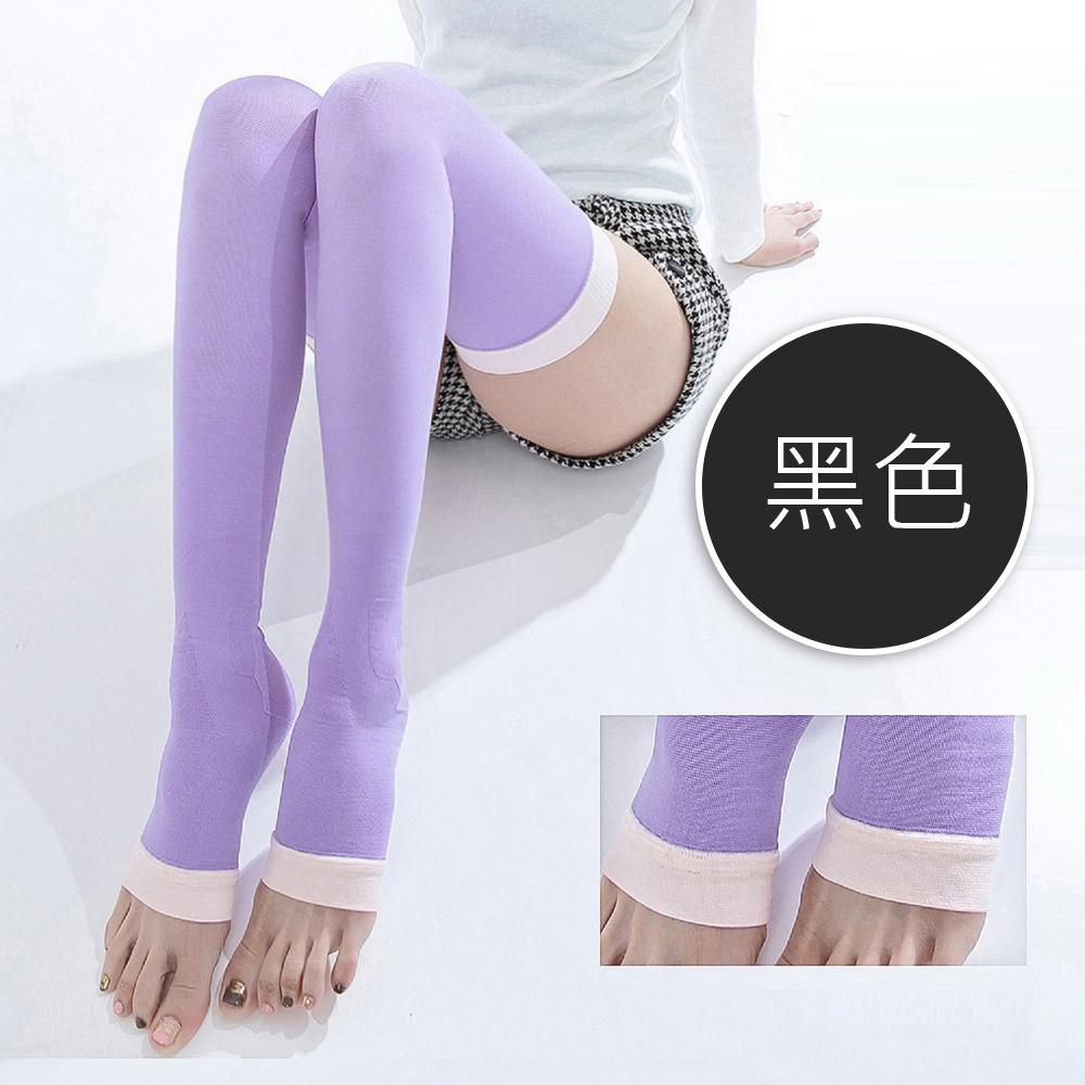 買二送一魔莉絲彈性睡眠襪360DEN西德棉一組三雙-壓力襪靜脈曲張襪