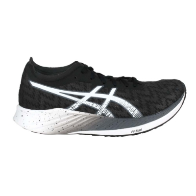 ASICS MAGIC SPEED 限量-男路跑鞋-2E-寬楦 亞瑟士 1011B393-001 黑白