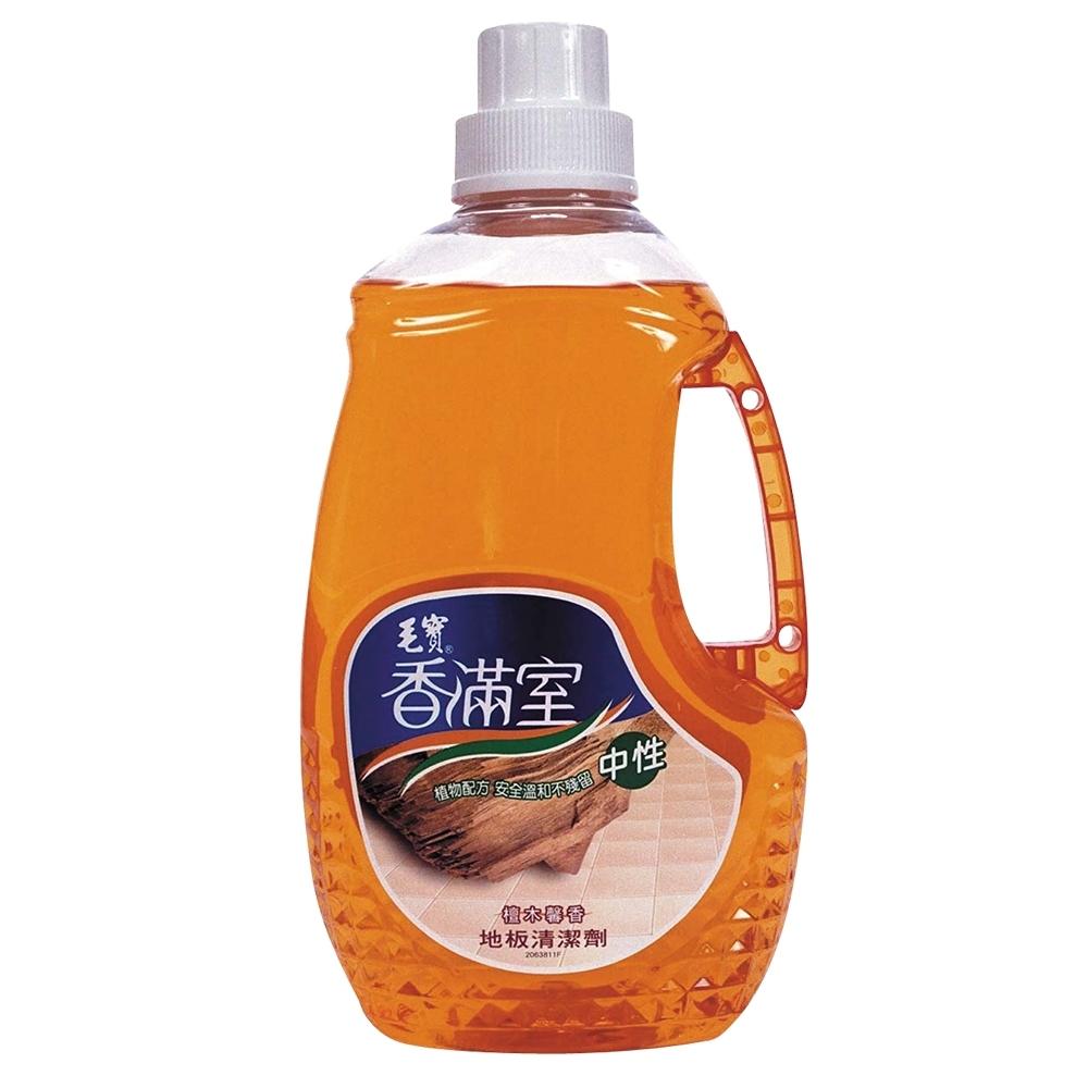 毛寶 香滿室地板清潔劑-檀木罄香(2000g x6入/箱)