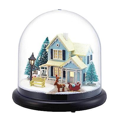 半島良品 DIY微景觀LED燈精緻小屋- 北歐童話