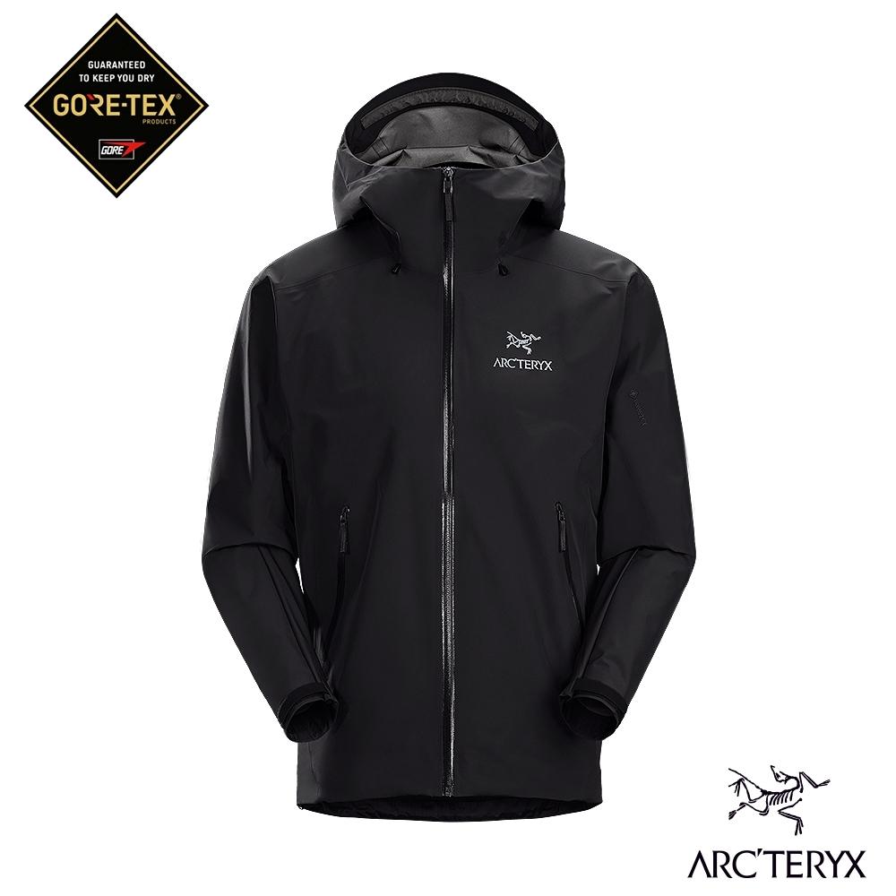 Arcteryx 始祖鳥 男 GORE-TEX Beta LT 防水外套 黑