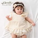 【Amorosa Mamma】有機棉嬰兒蕾絲洋裝