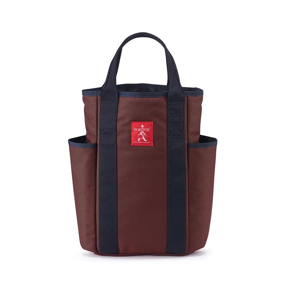 PORTER - 品味生活SIENA品酒收納袋(可入雙瓶) - 紅