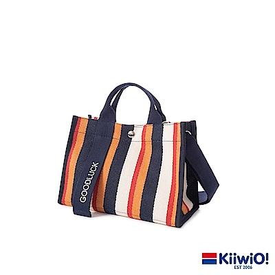 Kiiwi O! 極厚磅機能兩用功能托特包 GOODLUCK (多色選)