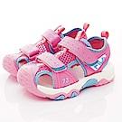 FILA頂級童鞋 護趾涼鞋款 FO56T-533粉(中小童段)