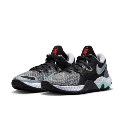 Nike 籃球鞋 Renew Elevate II 男鞋 避震 包覆 舒適 球鞋 支撐 運動 黑 灰 CW3406001