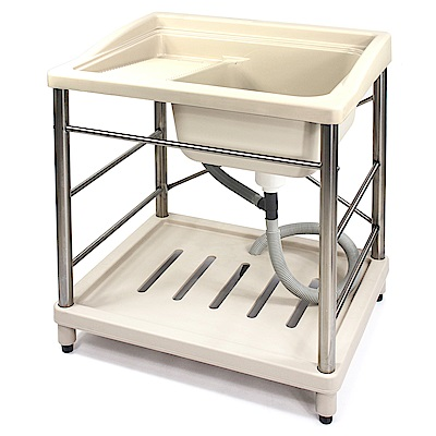 Aaronation 新型塑鋼洗衣槽 GU-A1008-ST-無龍頭