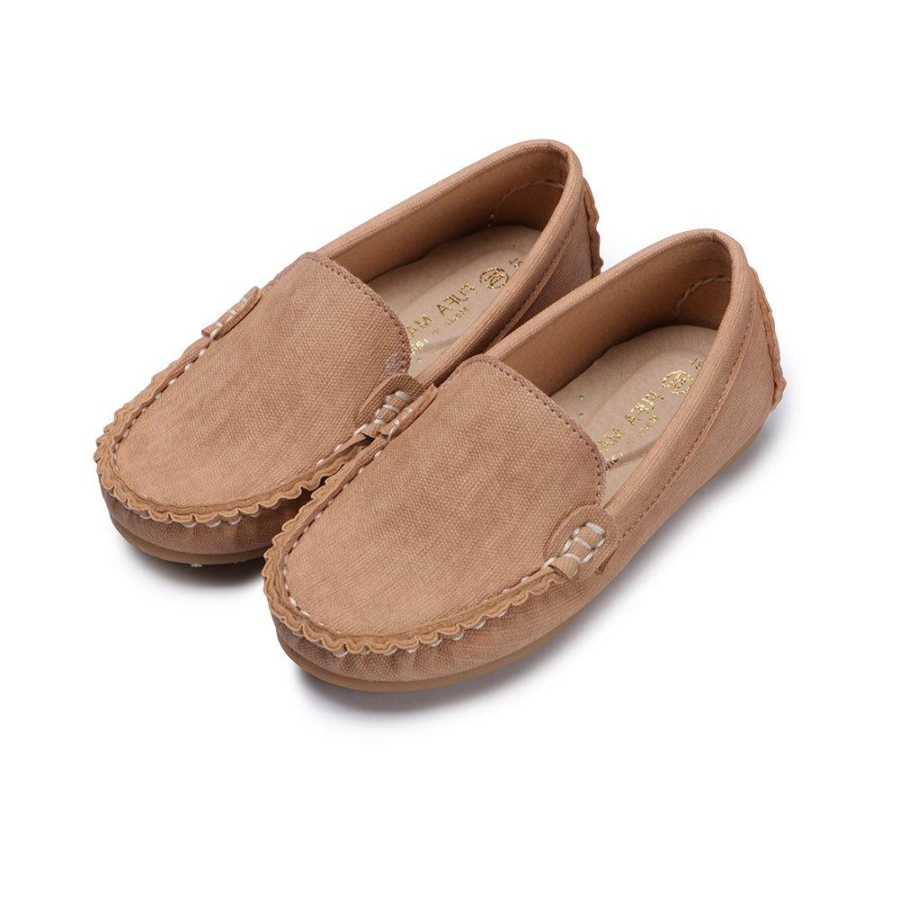 BuyGlasses 輕輕兒童樂福休閒鞋-棕