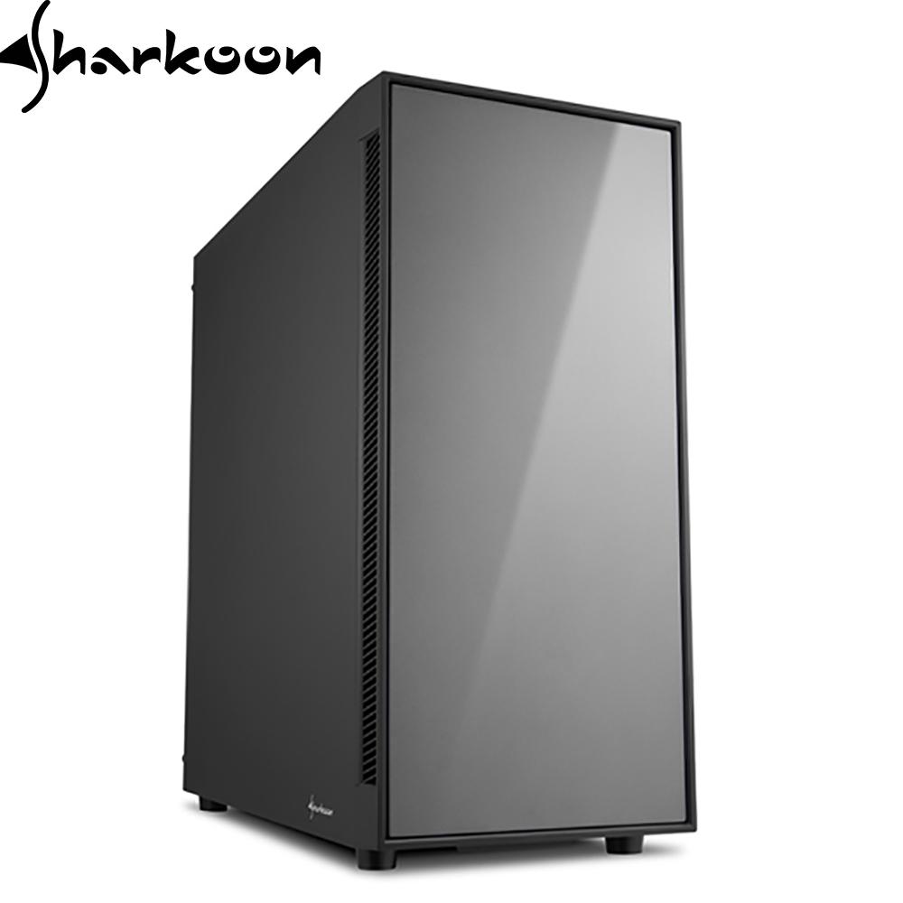Sharkoon 旋剛 飆風者 靜音 ATX 銀灰/紅 電腦機殼