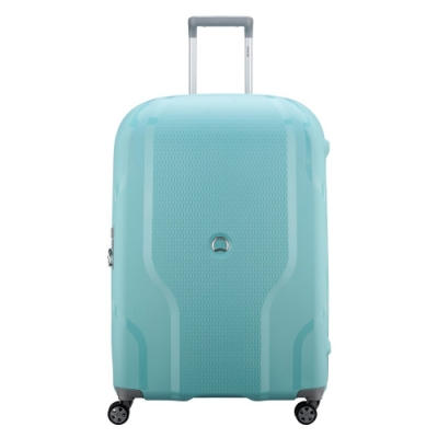 【DELSEY】CLAVEL-28吋旅行箱-藍綠色 00384582122