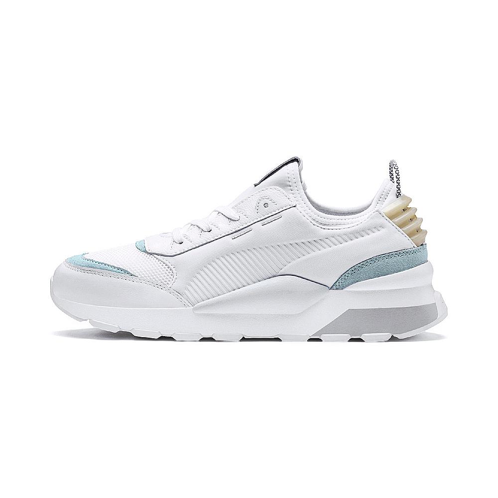 PUMA-RS-0 CORE 男女復古慢跑運動鞋-白色