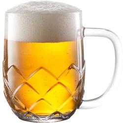 《TESCOMA》菱紋啤酒杯(500ml)
