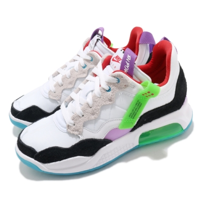 Nike 休閒鞋 Jordan MA2 運動 男鞋 氣墊 喬丹 包覆 球鞋 4色鞋帶 白 多 CV8122100