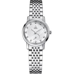ERNEST BOREL 瑞士依波路錶 喬斯系列 不鏽鋼鑲鑽-白色25.5mm