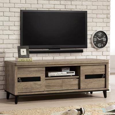 H&D 伊莎5尺推門電視櫃