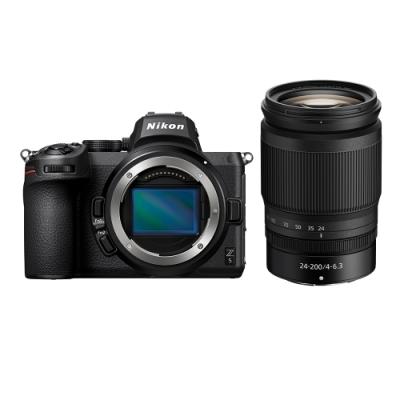 Nikon Z5 + NIKKOR Z 24-200MM F / 4-6.3 VR (公司貨)