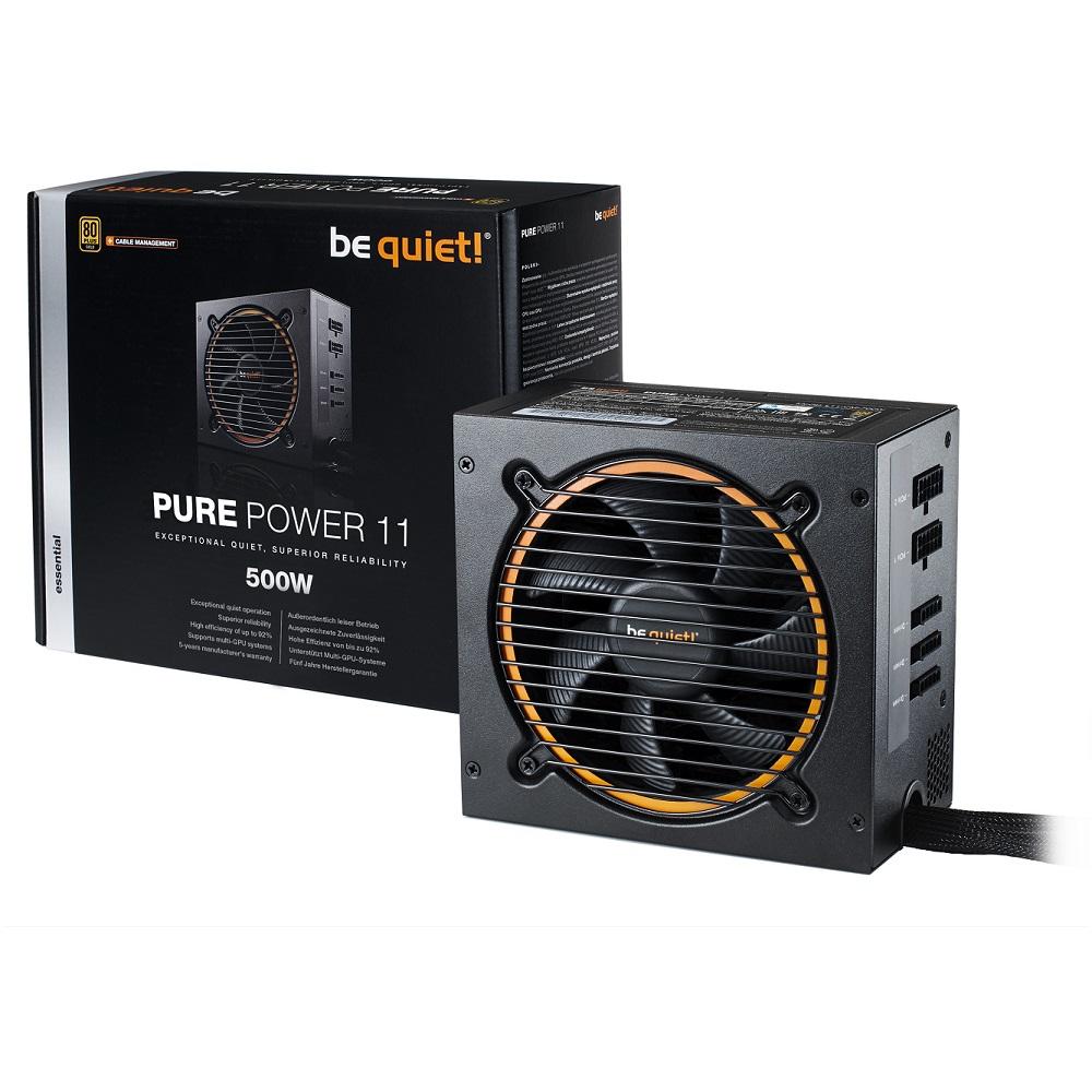 be quiet! BQT PURE POWER 11 500W 80+金牌 電源供應器