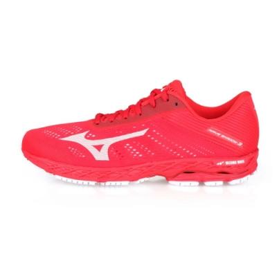 MIZUNO 男 慢跑鞋 WAVE SHADOW 3E 紅白