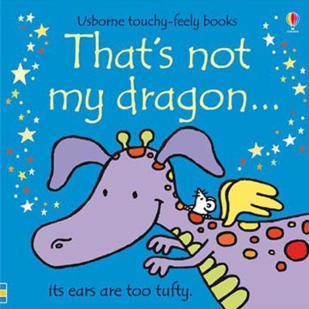 That's Not My Dragon 那不是我的小龍觸摸書