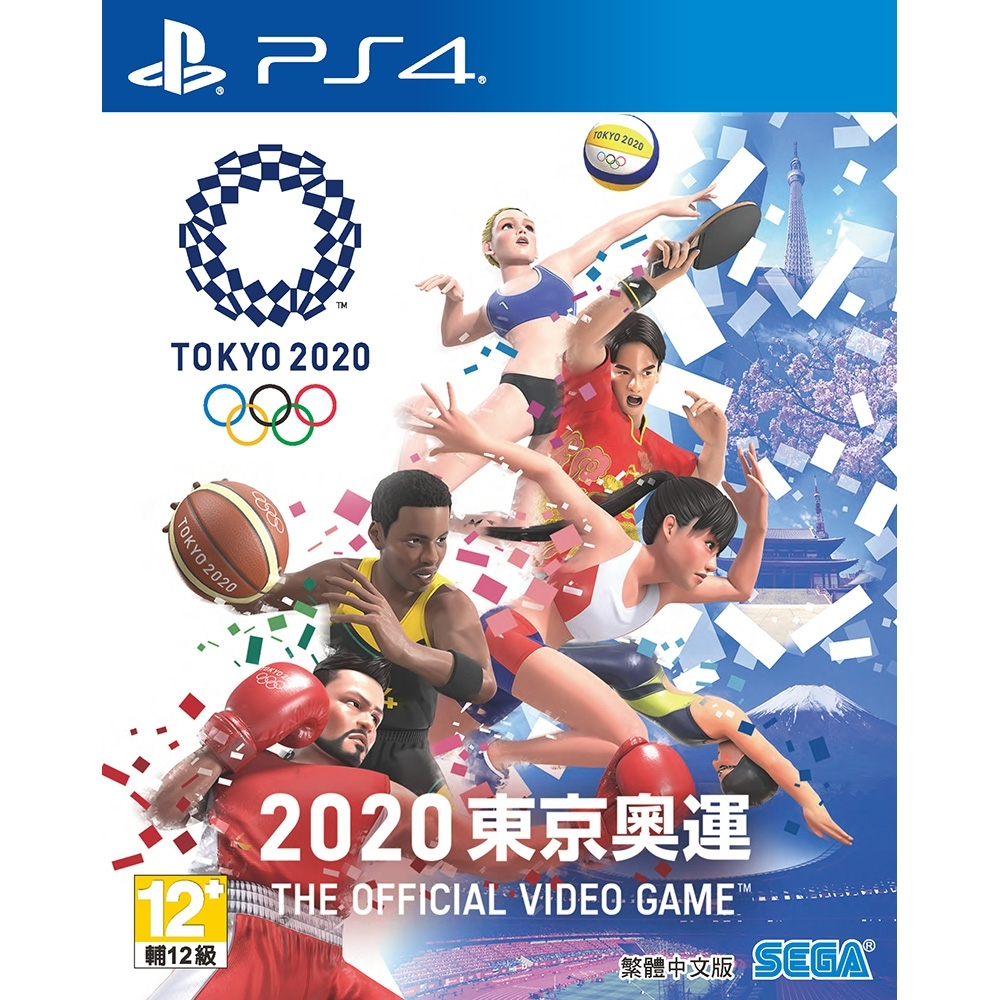 PS4 2020東京奧運 The Official Video Game中文版