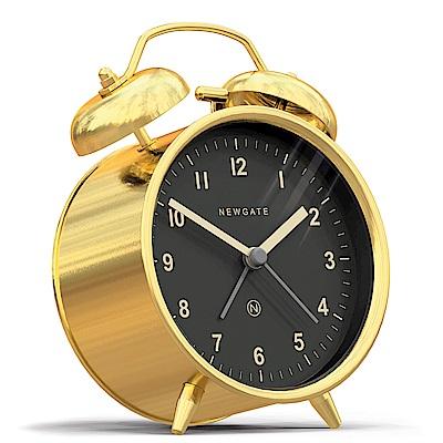 Newgate 英倫風格桌鐘-查理貝爾-黃銅-9.5cm