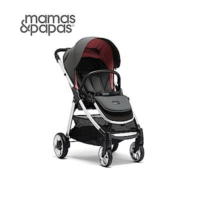 【Mamas & Papas】穿山甲雙向手推車XT2-雪菲爾(灰粉)