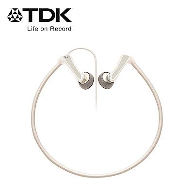 TDK 後掛式運動型耳機 CLEF-Active 白色
