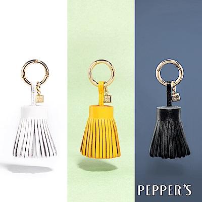 PEPPER`S Ellie 羊皮短裙擺流蘇吊飾 - 3色