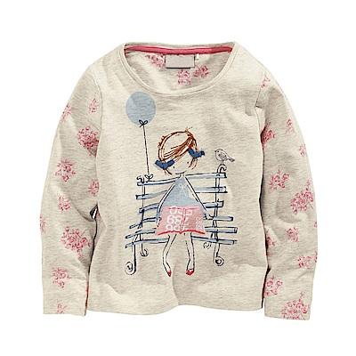 歐美little maven 歐美風格女童純棉長袖T恤-小女孩