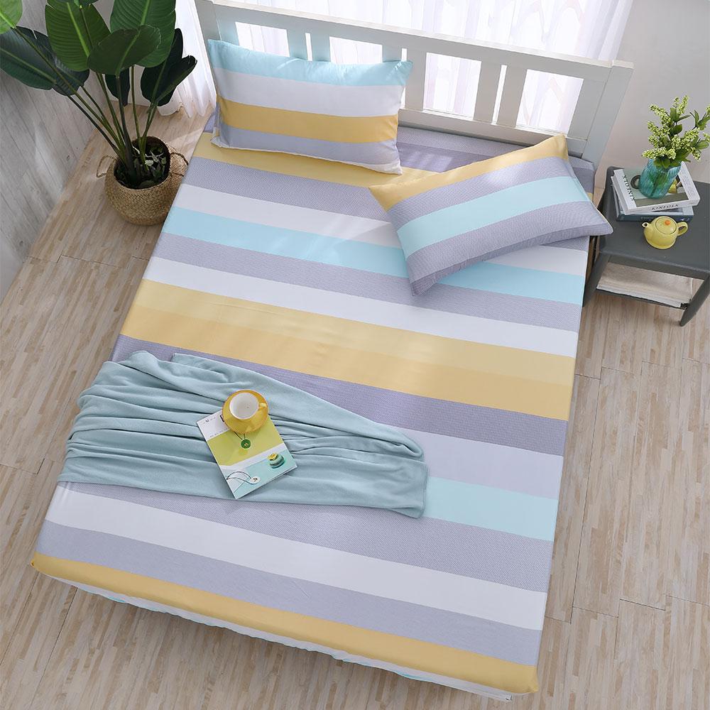 岱思夢 天絲床包枕套組 3M吸濕排汗技術 單人 TENCEL 黃金海岸