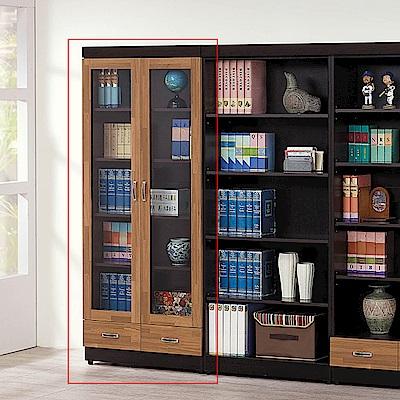 H&D 積層木雙門下抽書櫥