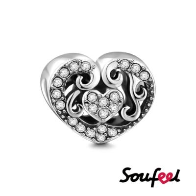 SOUFEEL索菲爾 925純銀珠飾  心動 串珠