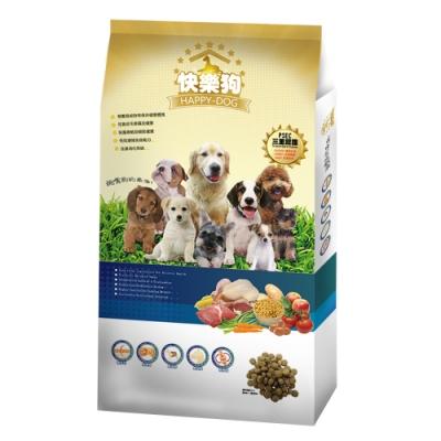 Happy Dog快樂狗》羊肉高嗜口皮膚毛髮挑嘴狗飼料-3kg(小/中/大狗都適合的顆粒)