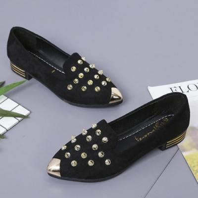 KEITH-WILL時尚鞋館 獨具品味時尚豆豆鞋-黑色